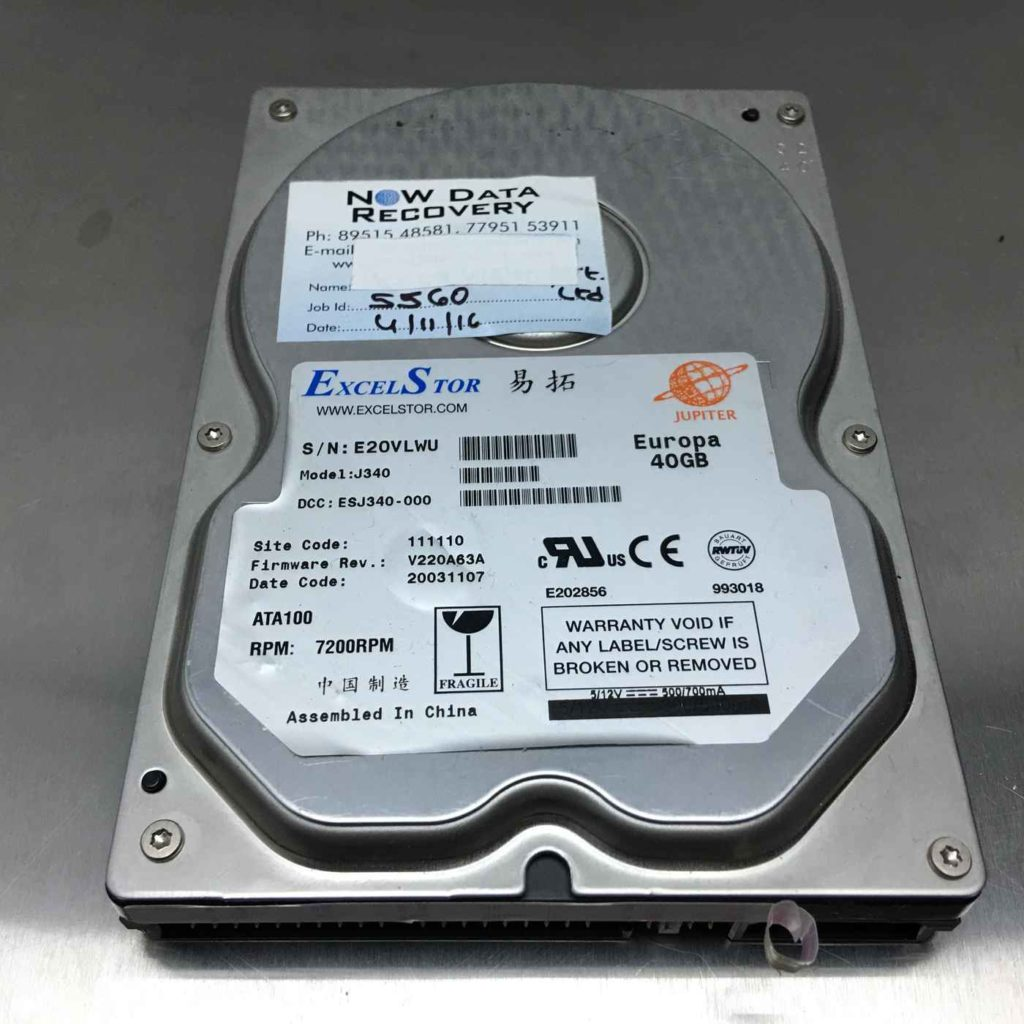 how to recover data from a dead seagate hard drive