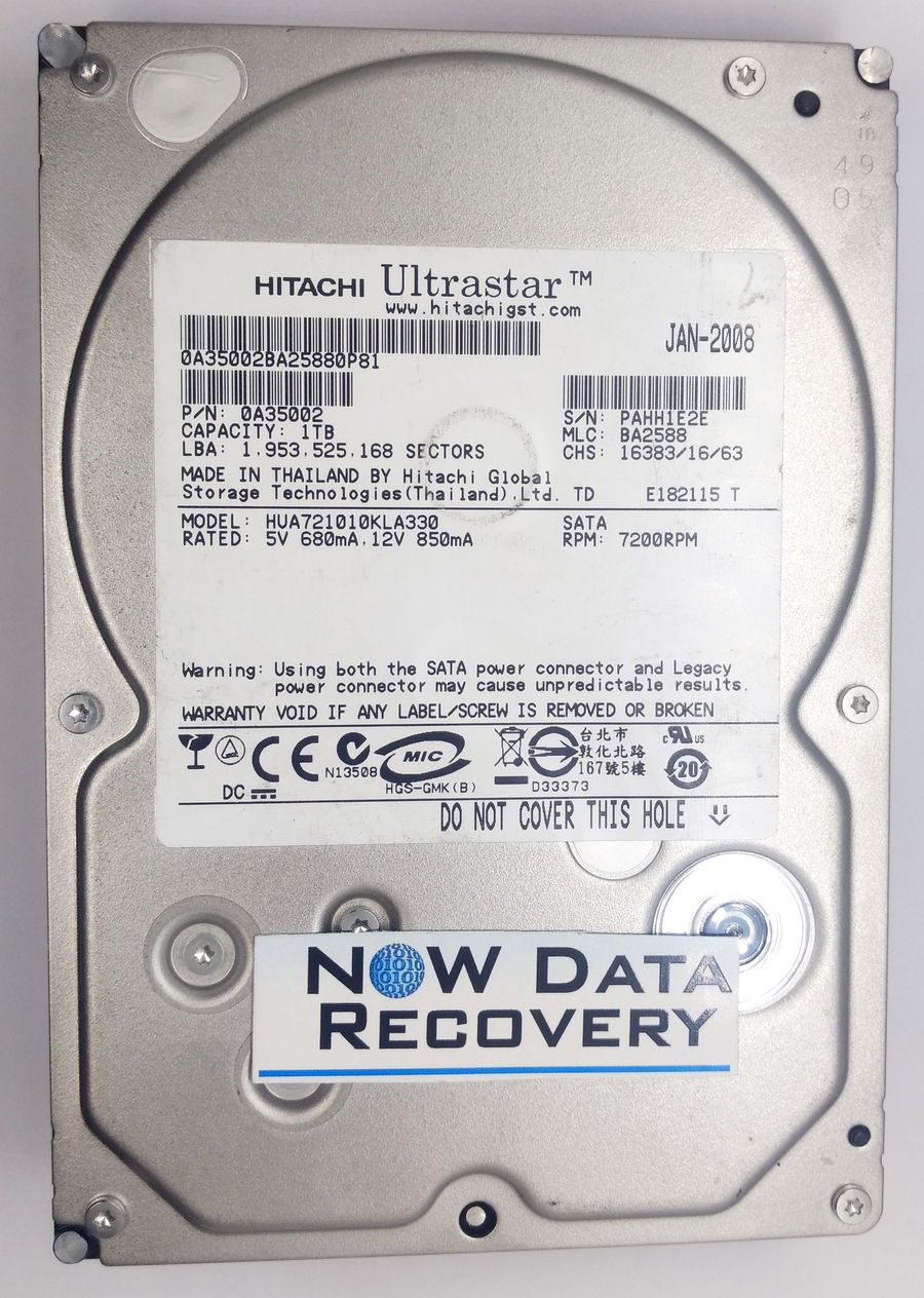 Hitachi-1-TB-HUA721010KLA330 Data Recovery