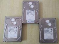 RAID 5 Data Recovery from 3 Toshiba Hard Drives