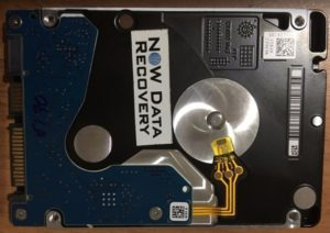 Seagate 2 TB USB backup plus data recovery mobile hdd - Back PCB - 100781943 REV A