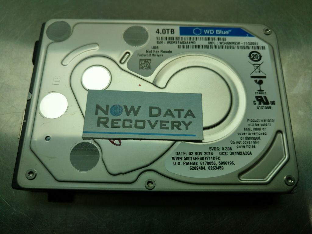 Western Digital 4 TB USB My Passport Data Recovery