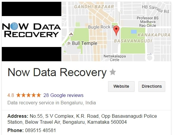 Now Data Recovery Review in Google Places