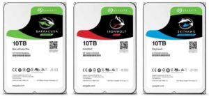 Seagate Ironwolf Hard drive data recovery