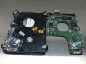 WESTERN DIGITAL USB HARD DRIVE WATER DAMAGED DATA RECOVERY nowdatarecovery.com